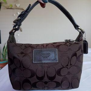 Coach signature Mini Bag Genuine Leather